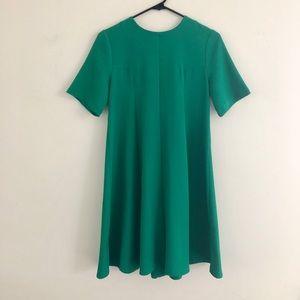 Topshop Green A-Line Dress 4
